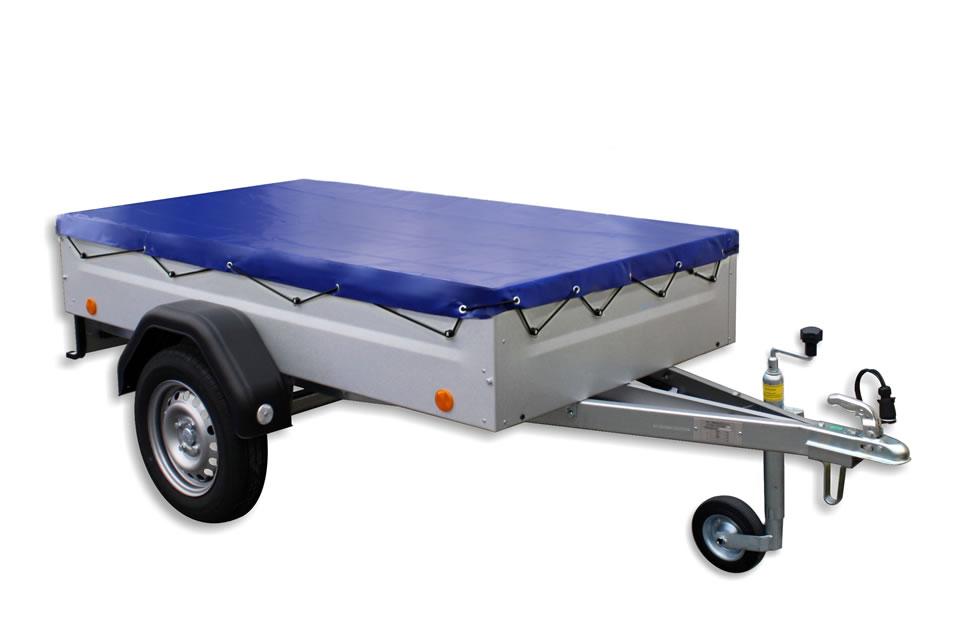 EU2 trailer with accessories