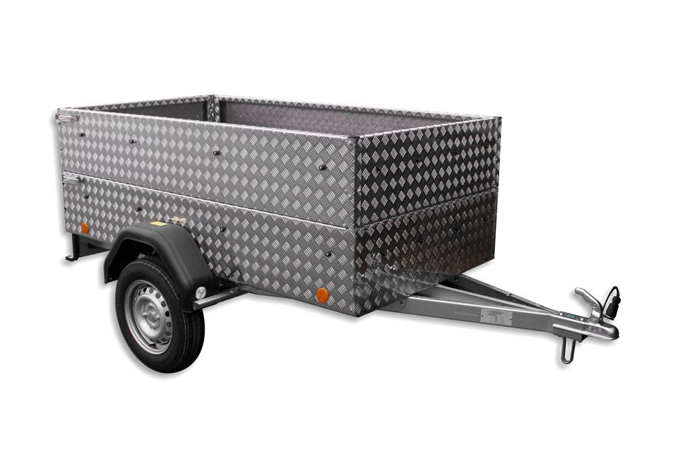 EU2 Al trailer with accessories