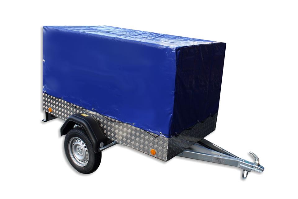 EU2 Al trailer with frame and PVC canvas